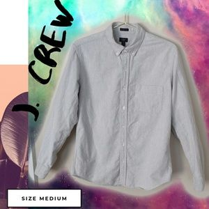 J. Crew Vintage Slim Oxford Button Down Shirt